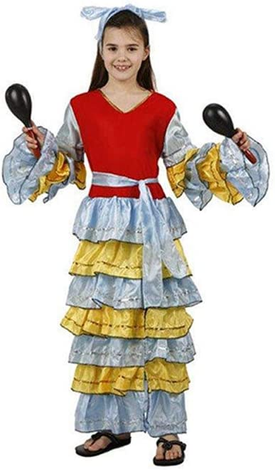 Cisne 2013, S.L. Disfraz de 2 Piezas para Carnaval Infantil niña ...
