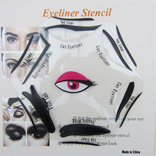 SaiDeng Makeup Eyeliner Stencil Template product image