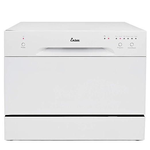 Amazon.com: Ensue encimera lavavajillas portátil compacto ...