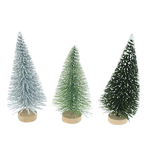 DIY Mini Christmas Tree Small Pine Tree Placed in TheChristmas Party Decoration Kids Gifts,B2 ()