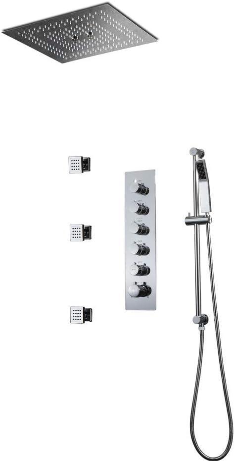 GJR-W Ducha-Set de Ducha, 400X400 mm Sistema de Ducha termostático ...