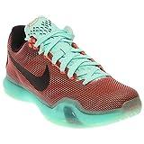 Nike Men's Kobe X Basketball X Shoes-Hot Lava/Black/Sunset Glow (11)