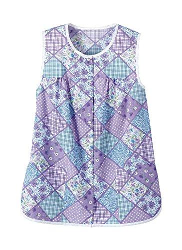 Ladies' Cobbler Apron - Misses Sizes, Color Purple Pat, Size LG