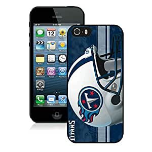 Personalized Design Phone Case For iPhone 5S Tennessee Titans 29_iPhone 5s 5th Generation Black Phone Case Cover 33556
