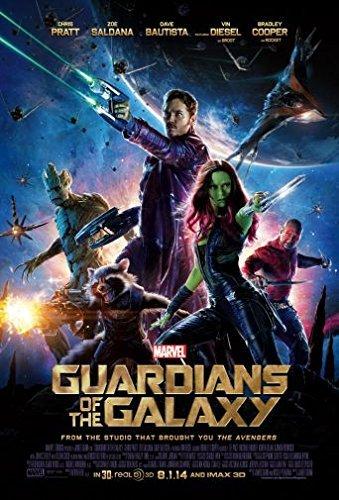 guardians galaxy movie poster mini
