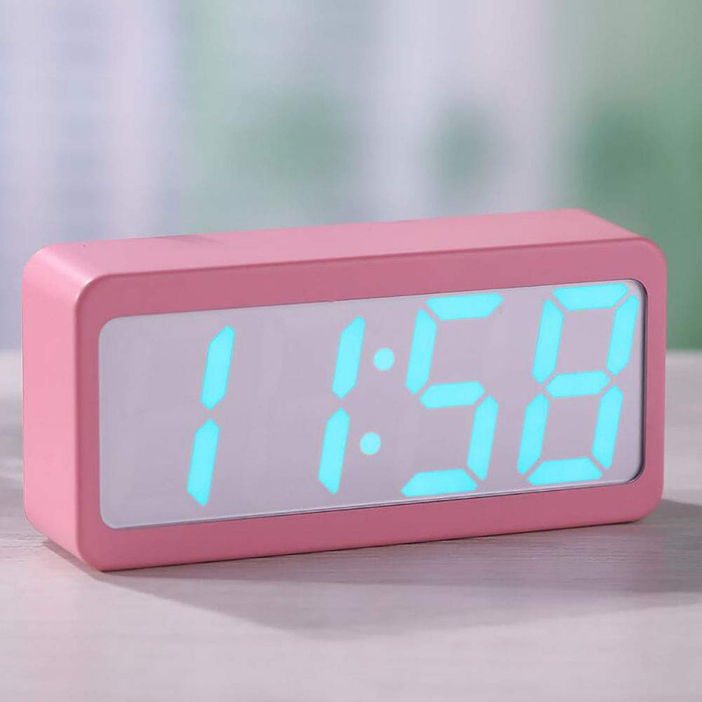 Amazon.com: LED Digital Alarm Clock with Snooze, Simple ...