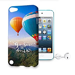Phone Case For Apple iPod Touch 5 - Go See The World Travel Premium Slim