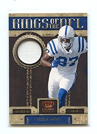 super popular 44bc9 f74ae 2011 Crown Royale Kings of the NFL Materials #2 Reggie Wayne ...