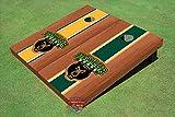 Baylor University Bear Rosewood Alternating Long Stripe Cornhole Boards - Bu-9119