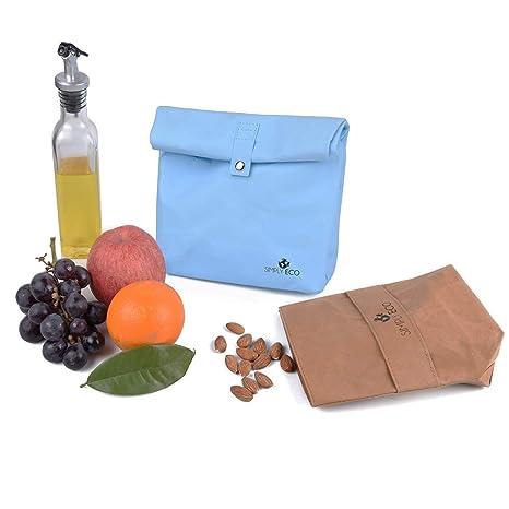 Amazon.com: Simplemente Eco reutilizable sacos de sándwich y ...