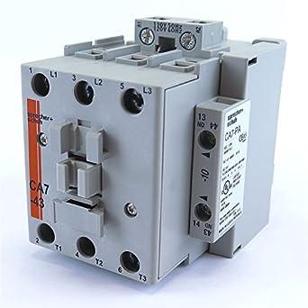 SPRECHER SCHUH CA7-16-10 CONTACTOR 10 HP MAX 460 VOLT 120 VOLT COIL