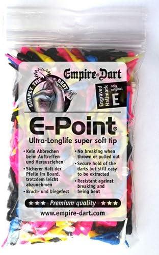 E-Point Softdart Spitzen kurz 2BA Sortiment 500 Stück