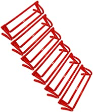 XMSound Adjustable Hurdle Set for Agility Speed Training, Foldable for Jumping, Racing, Obstacle Courses, PE C