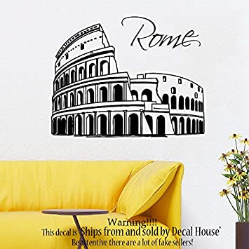 Welcome Sticker Vinyl Decal Decors Wall Quotes Home House Bedroom Lounge Hall