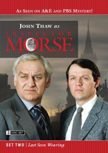 Inspector Morse Set Two: Last Seen Wearing (Morse Dvd Set)
