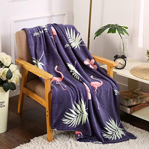- Noble House Velvet Touch Ultra Plush Throw Fleece Blanket 50