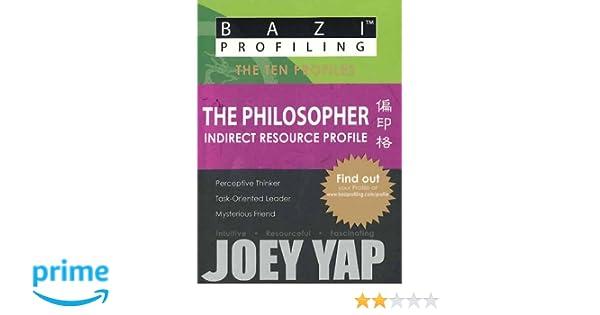 BaZi Profiling Series - The Philosopher (Indirect Resource