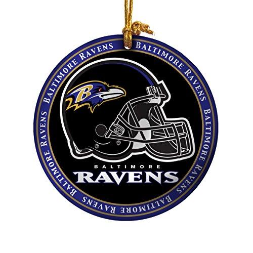 NFL Ravens Ceramic Plate