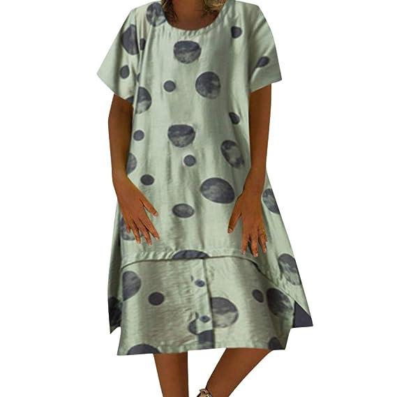 Falda Simple Y Elegante para Mujer Costura Suelta Punto ImpresióN ...