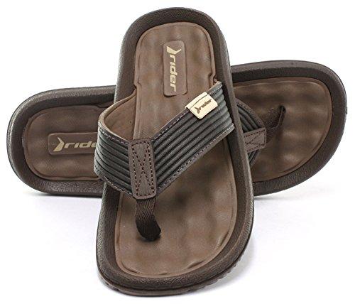 Rider Dunas VI Ad - Sandalias de caucho para hombre marrón