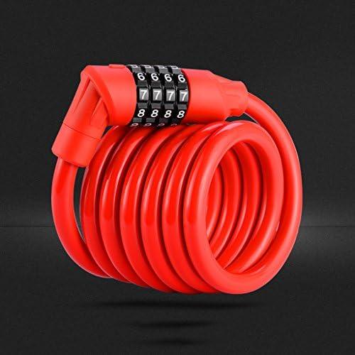 ミニ自転車ロックセキュリティコードロック ( Color : Red )