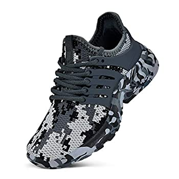NYZNIA Boys Ladies Footwear Tennis Operating Light-weight Breathable Sneakers for Children…