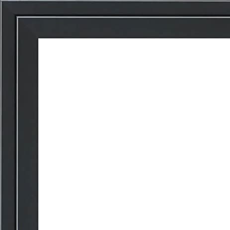 Amazon.com - 12x18 - 12 x 18 Black and Silver Pinstripe Solid Wood ...