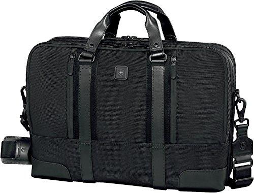 Victorinox Nylon Briefcase - Victorinox Lexicon Professional Paulista 17, Black