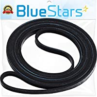 Ultra Durable 40111201 Dryer Drum Belt Replacement Part by Blue Stars- Exact Fit for Whirlpool Maytag Dryer- Replaces 14218936 40051501 40051502