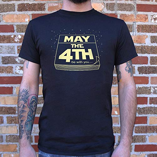 Sound Affections May The Fourth Be with You T-Shirt (Mens) Gray Heather Large