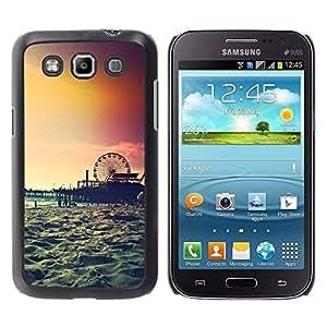 TopCaseStore / la caja del caucho duro de la cubierta de protección de la piel - Island New York Summer - Samsung Galaxy Win I8550 I8552 Grand Quattro
