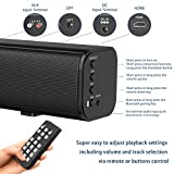 JTWEB 2020 Ultra-Slim Sound Bar with Subwoofers for TV, Wall Mountable,Wireless Bluetooth,32-in Deep Brass TV Audio Speaker Bar 2.1 Channel - Home Theater Surround Sound Speaker System