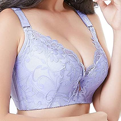80f497afca Image Unavailable. Image not available for. Color  GuiZhen Women s Bras Big  Size Lady s Chest is Small Fat MM200 Catty lace Gather and Adjust