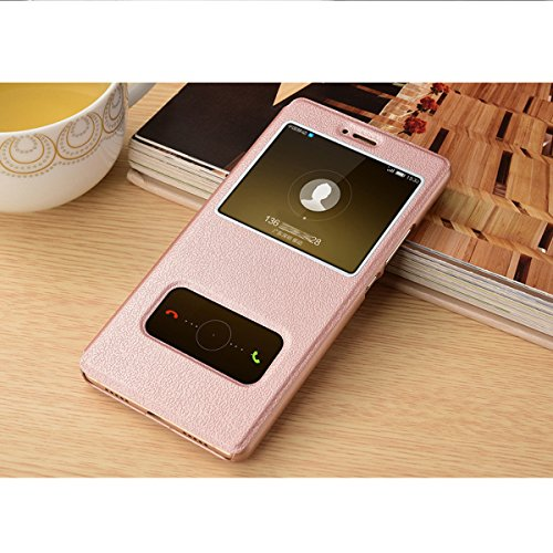 Jeper Stand 2017 Flip In Bookstyle Custodia Pu Cover Magnetica Case Protettiva P8 Lite Chiusa Con Per Huawei Gold Rose Portafoglio Pelle PqFwvrSPAx