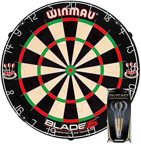 Pack Pro Diana Winmau Blade 5 + Set de 3 Dardos: Amazon.es: Deportes y aire libre