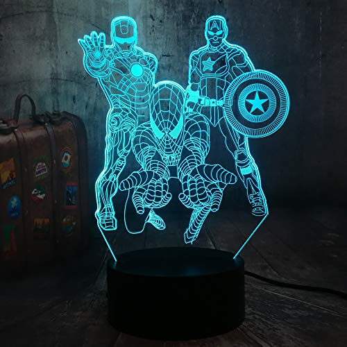 Check expert advices for superhero lamps for boys bedroom?