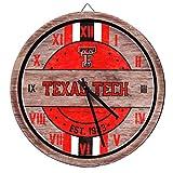 FOCO Texas Tech Red Raiders NCAA Barrel Wall Clock