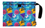 MELLOW Smell Proof Bag 9''x7'' - Funky Ocean Blue - PRIMO QUALITY - Store all your smelly smoking accessories DOG TESTED
