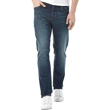 Comfortable Lee Cooper Basicon Jeans Mens Dark Wash Online Shopping