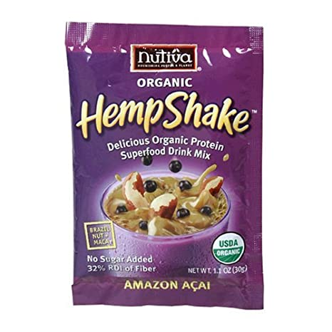 Hemp Shake Amazon Acai 1.10 Ounces