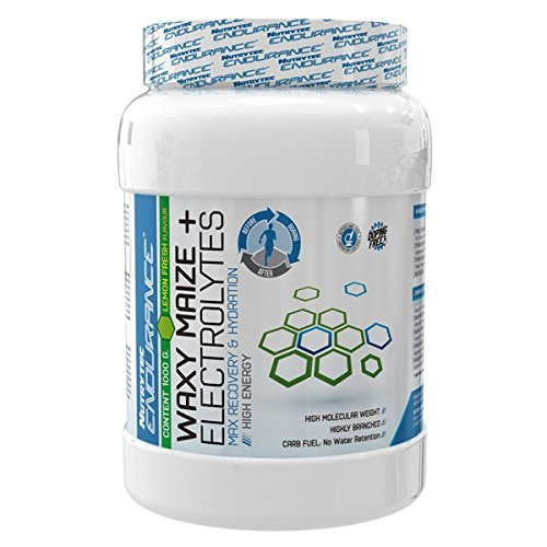 Nutrytec Endurance Waxy Maize + Electrolytes 1000 gr - Frutos Rojos: Amazon.es: Alimentación y bebidas