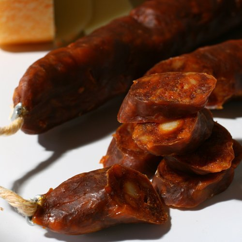 Palacios Hot Chorizo - 7.9 Ounces (Case of 14) by Palacios