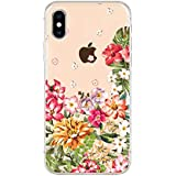FancyCase Compatible with iPhone Xs Max Case,New Clear Transparent Style Soft TPU Protective iPhone Xs Max Case by Fancy Case Multi-Colored