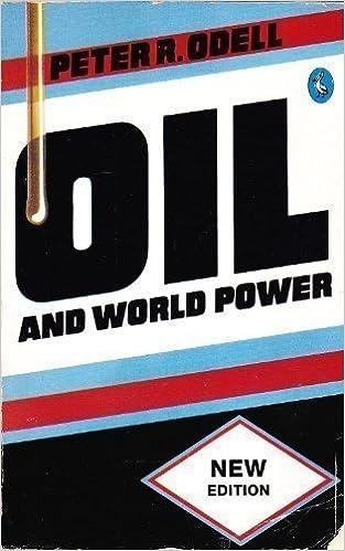Book Oil and World Power: A Geographical Interpretation (Pelican Original)