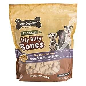 Amazon.com : Three Dog Bakery Itty Bitty Bones Baked Dog