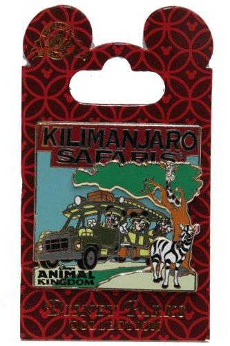 Disney Pin #63448: WDW - Kilimanjaro Safaris Expedition - Mickey, Minnie and Goofy