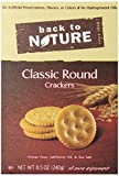 Back to Nature Non-GMO Crackers, Classic Round, 8.5 Ounce