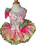 Jenniferwu Infant Toddler Baby Newborn Little Girl's Pageant Party Birthday Dress G276 Fuchsia Size 3T