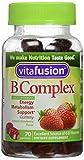Vitafusion Boost B, Gummy Vitamins, Wild Strawberry 70 ea