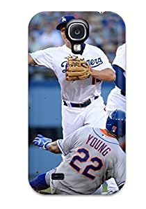 Excellent Design Los Angeles Dodgers Phone Case For Galaxy S4 Premium Tpu Case